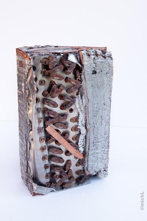 Transfer III / Aluminium et cuivre /   © Michel LAURENT / MichL