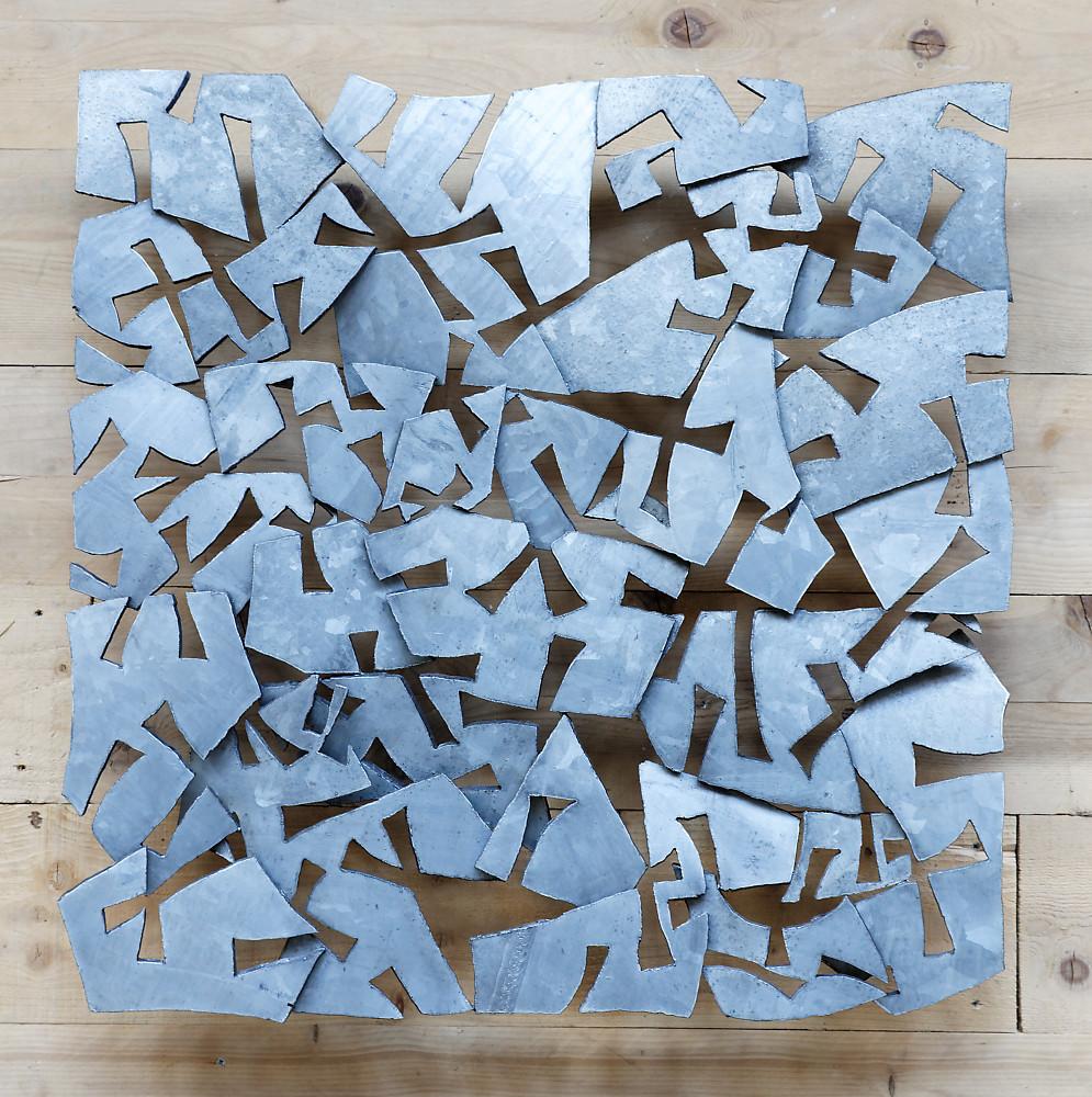 Sky Crackers (81x81 cm)  ©Michel LAURENT