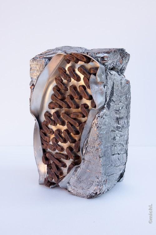 Transfer I / Aluminium et cuivre /   © Michel LAURENT / MichL
