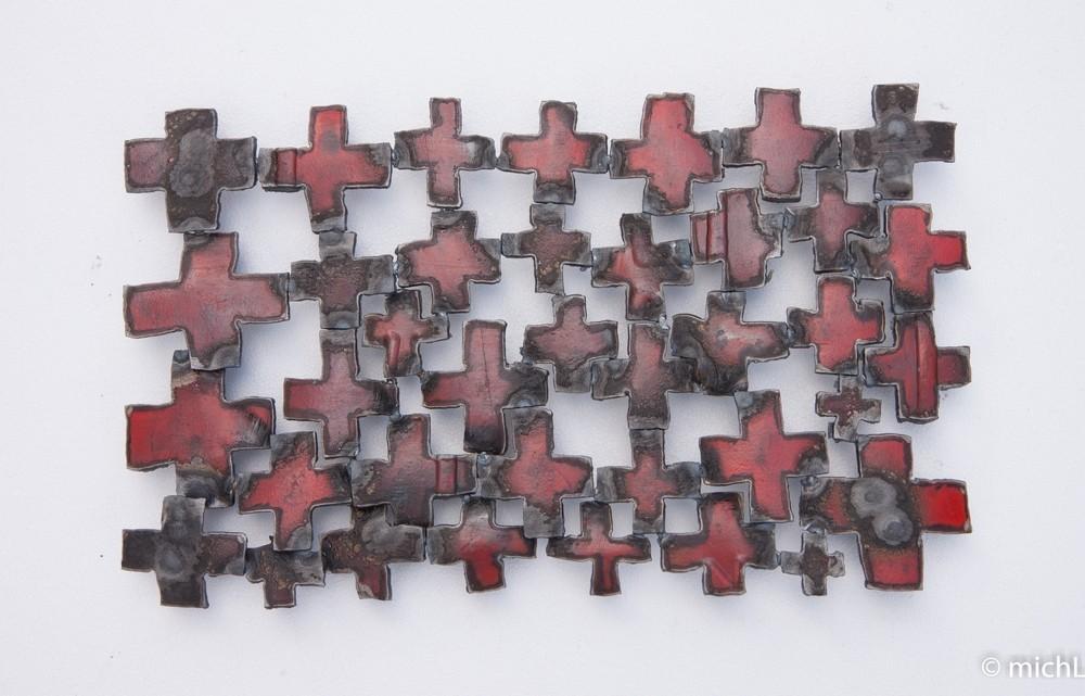 Éclats / Acier  (26 x 44 cm)  © Michel LAURENT (MichL)