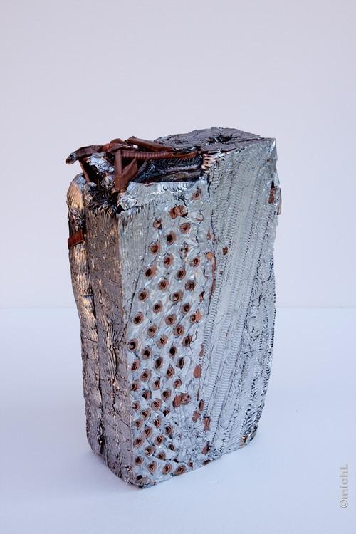 Transfer II / Aluminium et cuivre /   © Michel LAURENT / MichL