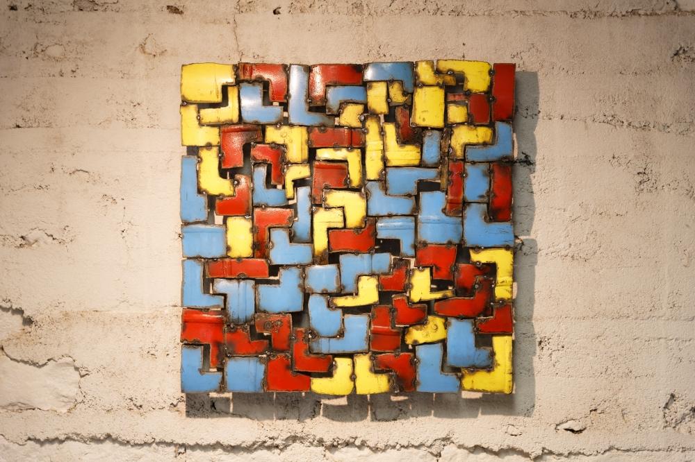 Gaz—30 (50x50x5 cm) ©Michel LAURENT