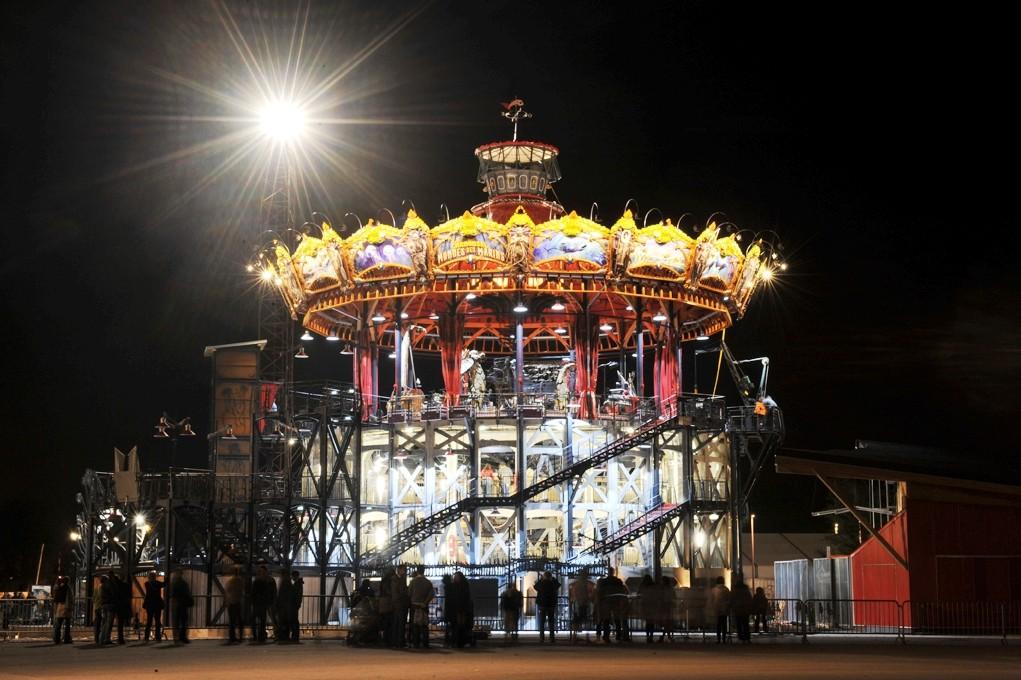 Nantes - Le carrousel des Mondes marins