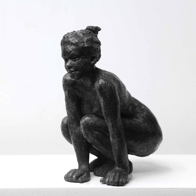 Sculpture Felidae - Bronze - Sébastien Langloÿs