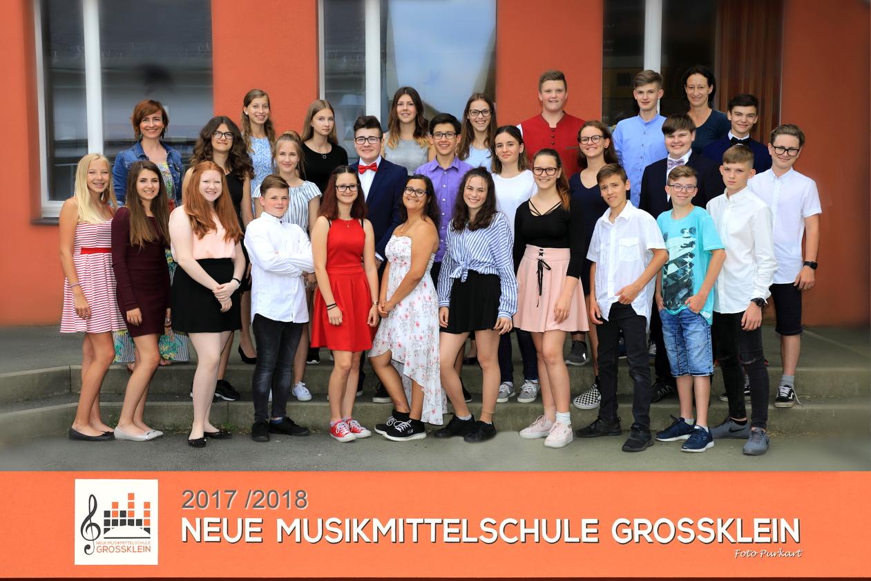 4.a Klasse (Musikklasse) KV: Pollhammer Heike, Schwarzl Waltraud