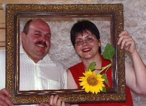 Ihre Gastgeber: Klaus Hug und Petra Rehm-Hug