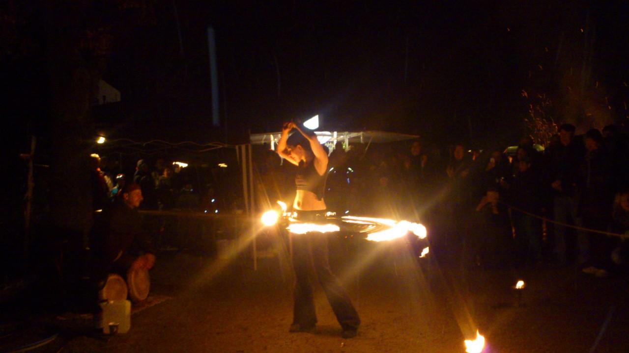 Feuershow - Crystal Pearl