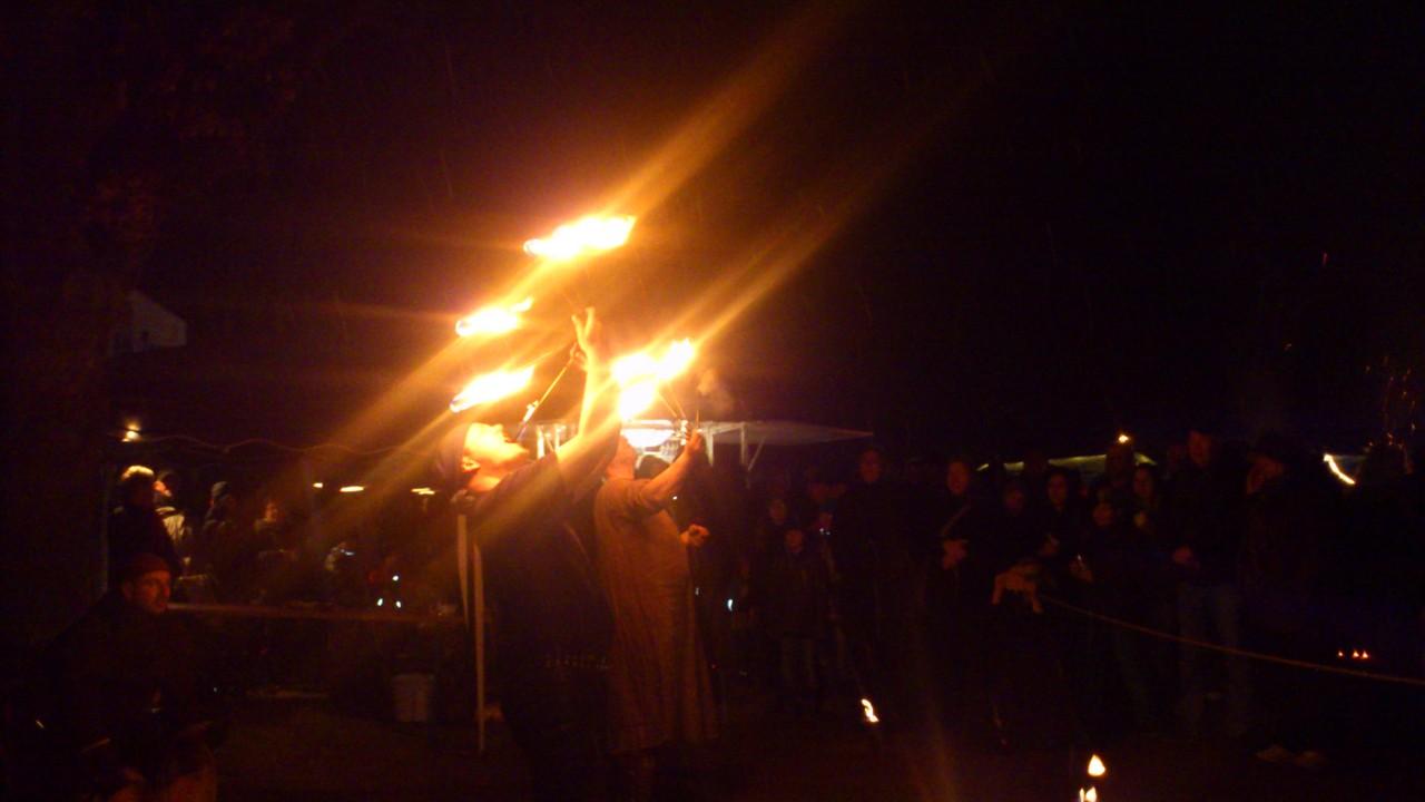 Feuershow - Schorsch