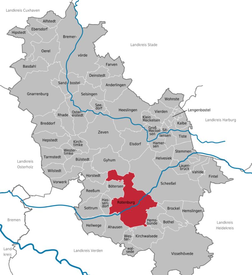 Landkreis Rotenburg Wümme Niedersachsen