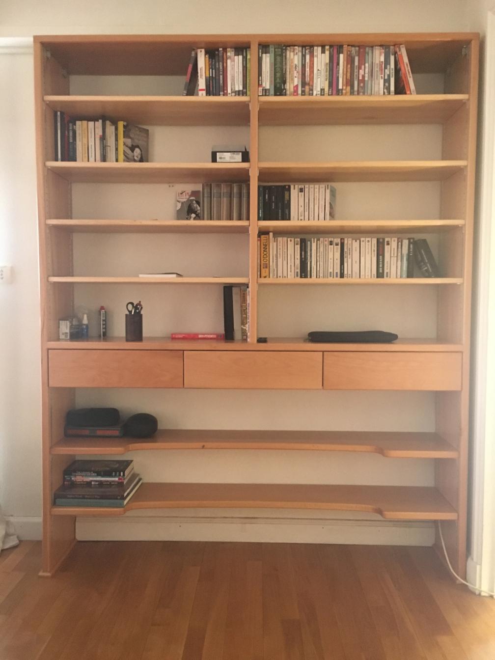 bibliothèque sur-mesure