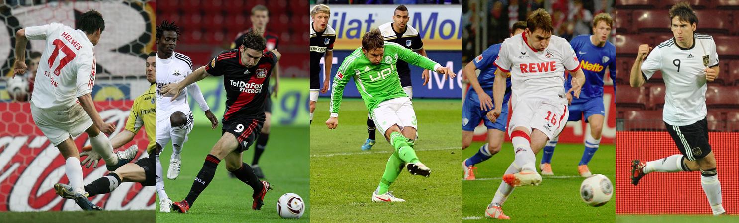 FC Cologne (Part I) - Bayer Leverkusen - VfL Wolfsbourg - FC Cologne (Part II) - Allemagne - Click to enlarge