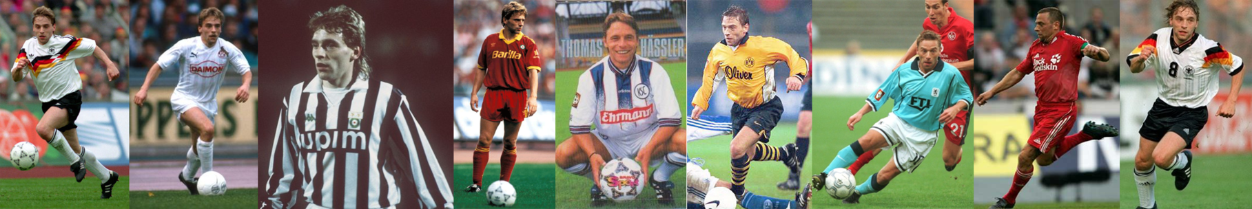RFA - Cologne - Juventus Turin - AS Rome - Karlsruhe - Borussia Dortmund - Munich 1860 - Austria Salzbourg - Allemagne - click to enlarge