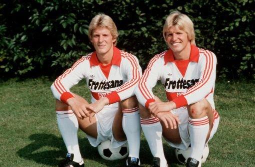 Les frères Förster (Karlheinz, à gauche, et Bernd, à droite)