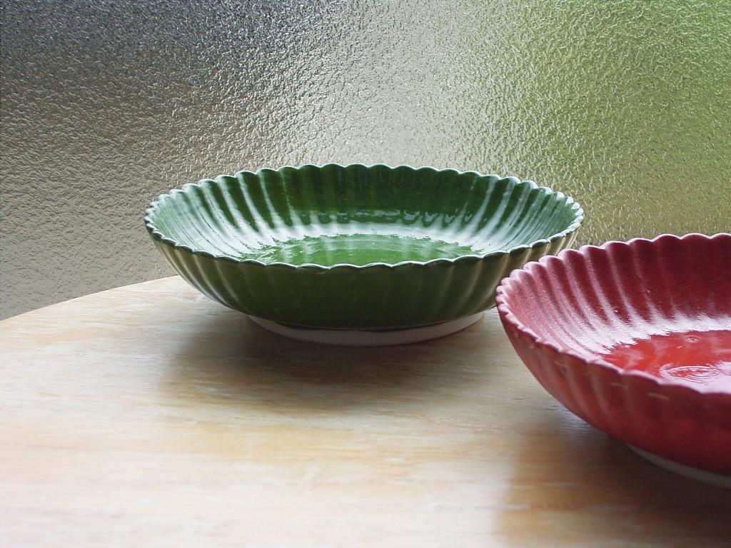 小皿、色が気に入った(値段もネ)。