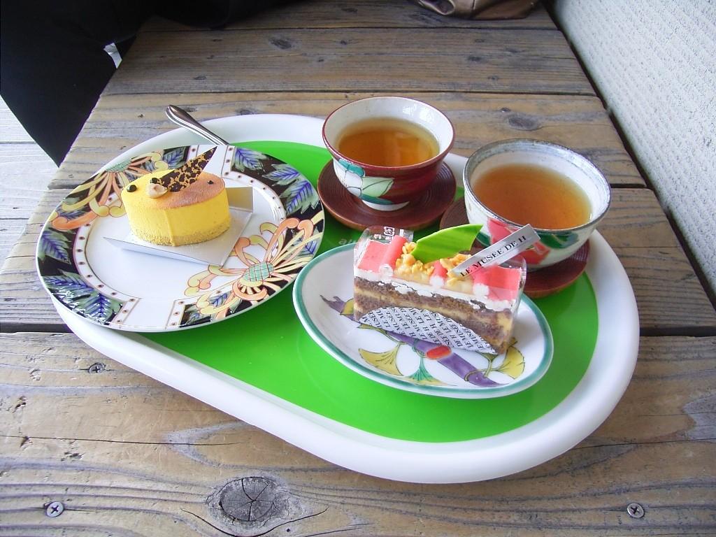 加賀棒茶とのセット