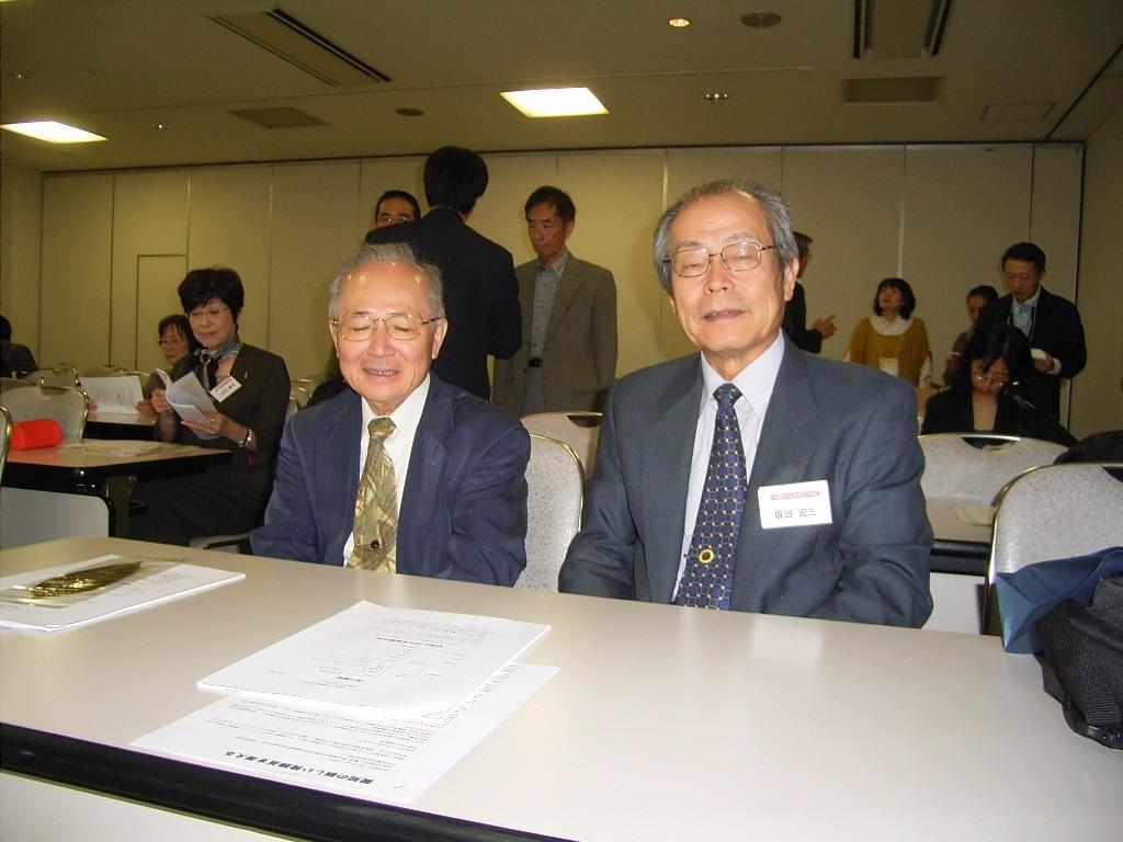 武田先生と坂田先生。