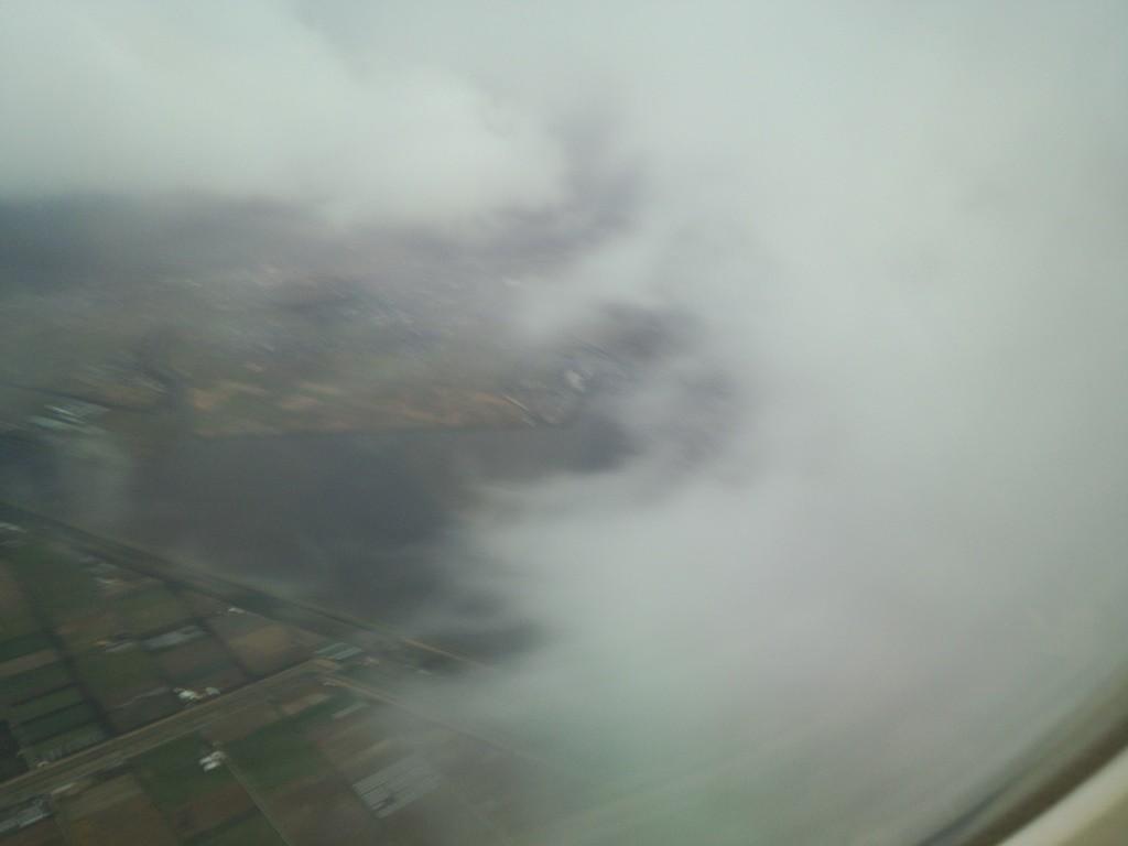 どんどん雲。