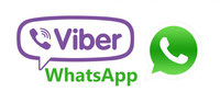 viber,whatsApp