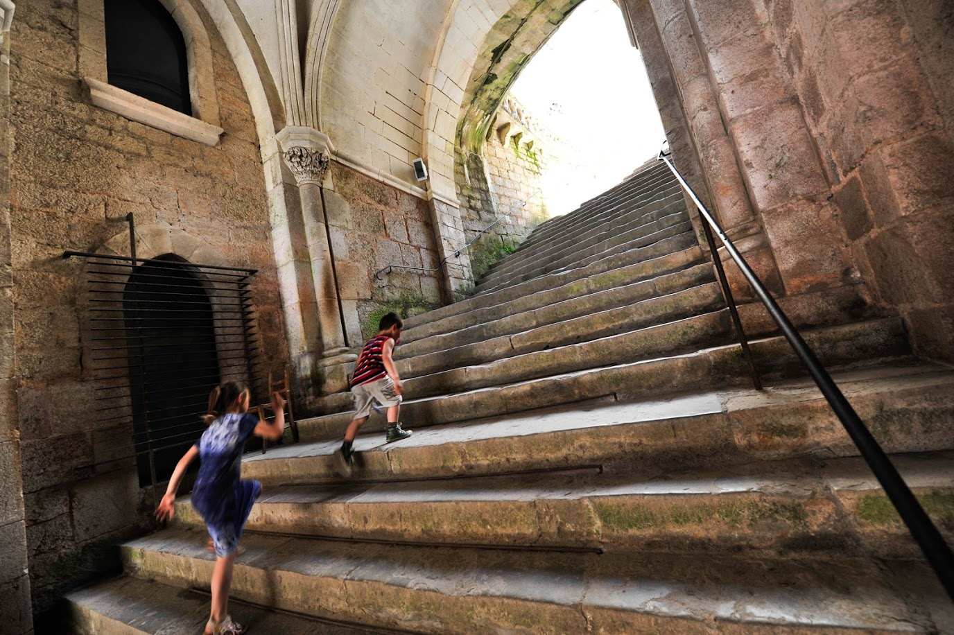 Visite enfants Rocamadour