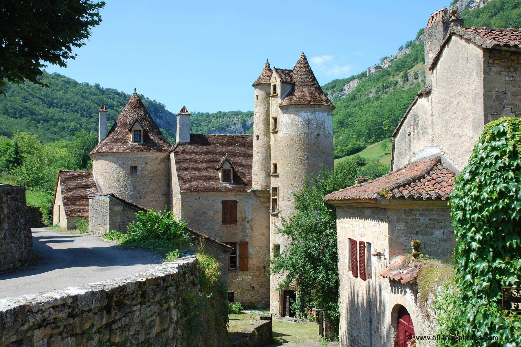 Château de Limargue à Autoire