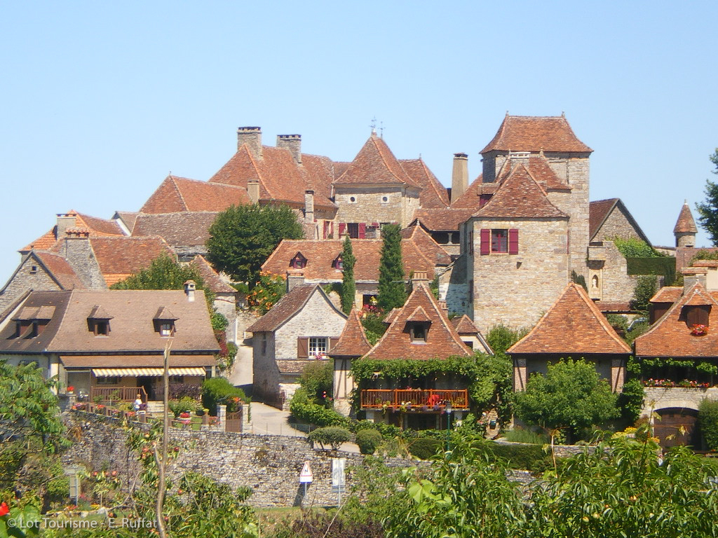 Visite guidée de Loubressac