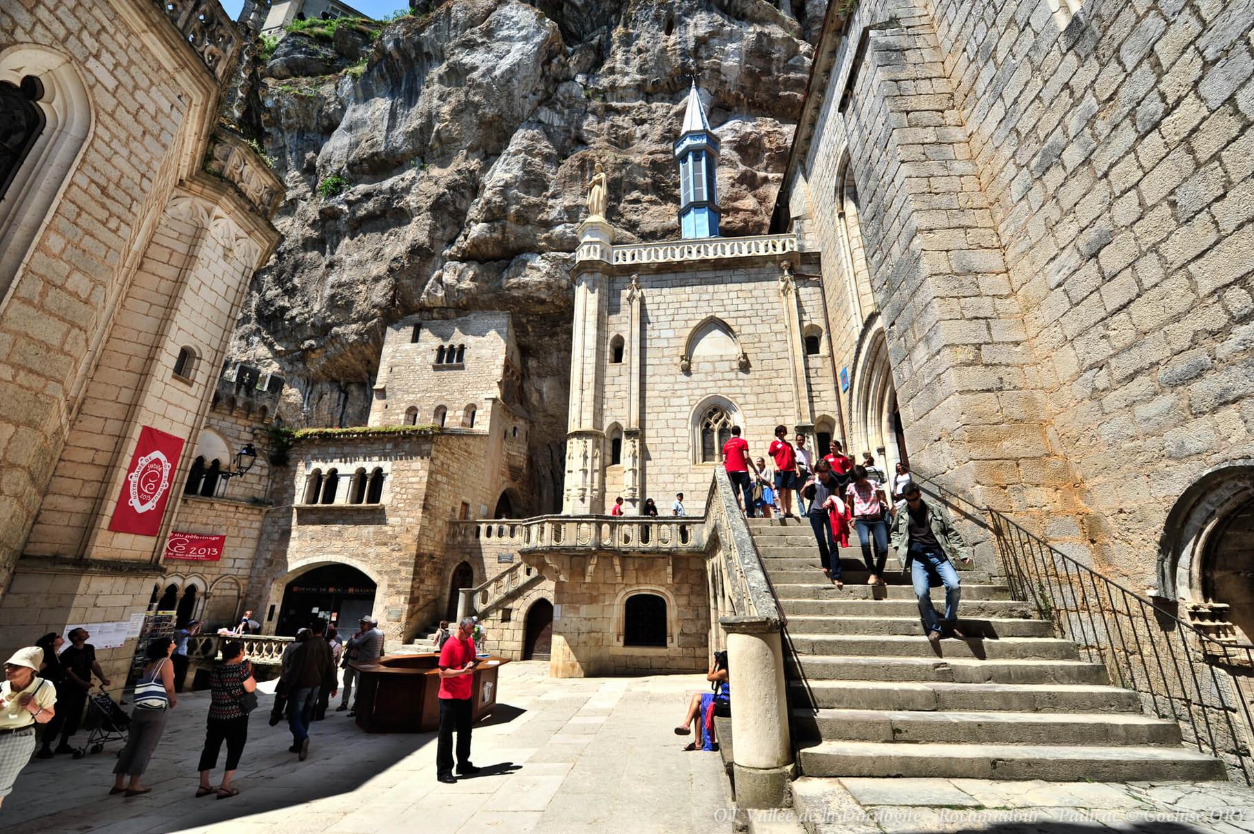 Visite guidée des sanctuaires à Rocamadour