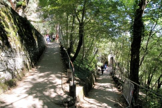 Le chemin de croix de Rocamadour