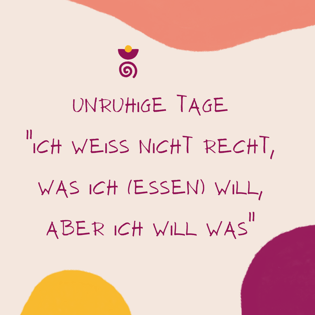 Unruhige Tage