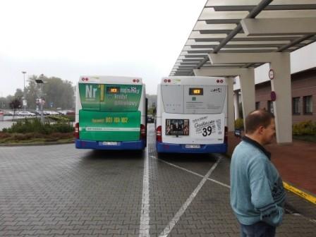 Für den Transport wurden Busse...