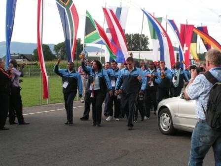 ...dann kommt der Gastgeber der WM2012 - SÜDAFRIKA !!!