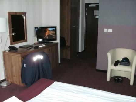 ...in dem schönen Hotel mit den geräumigen Zimmern.