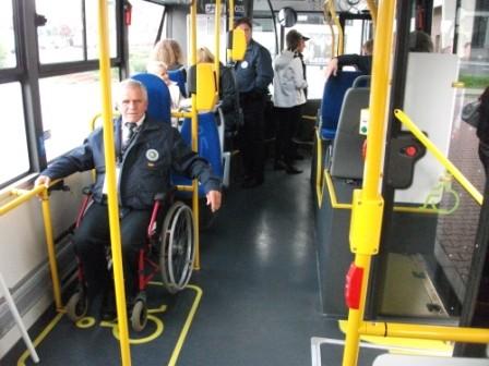 Allerdings war in den Bussen nicht immer soviel Platz...