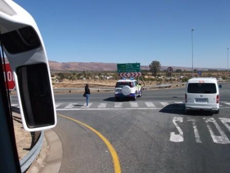...an Kreuzungen hingegegen wurde für freie Fahrt gesorgt.