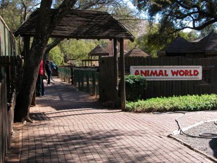 ...einem Tierpark...