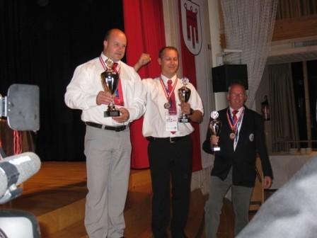 1. und 3. Platz in der Einzelwertung für Marcus Ritter und Heino Martens.