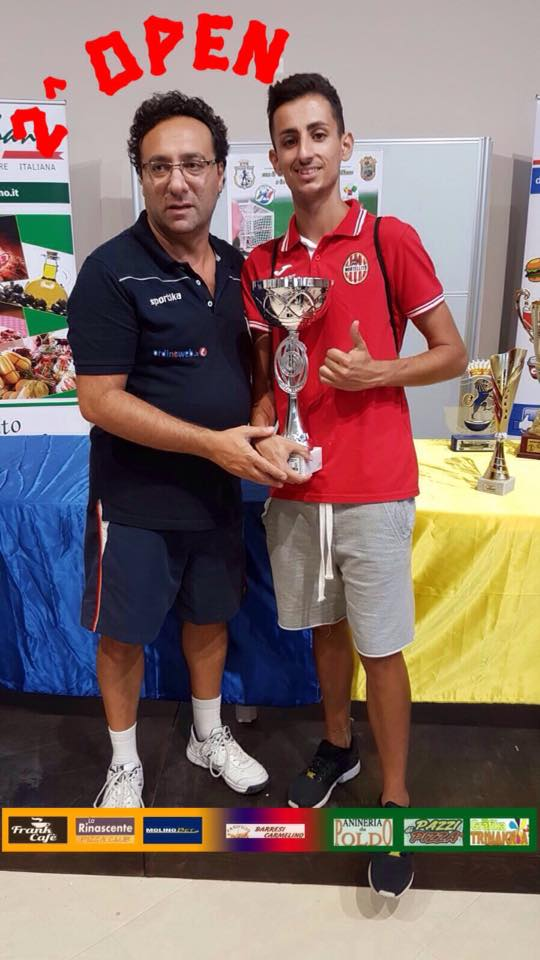 Mandanici Salvuccio, finalista categoria Open