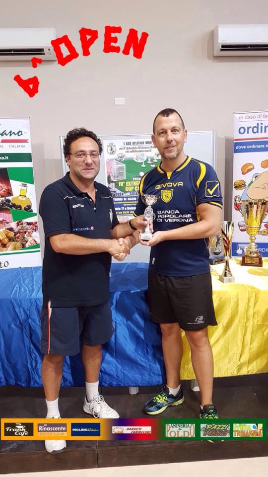 Cortese Michele, quarti di finale categoria Open