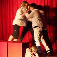 Foto: Erik Biembacher, Uraufführung theater XS aus Münster