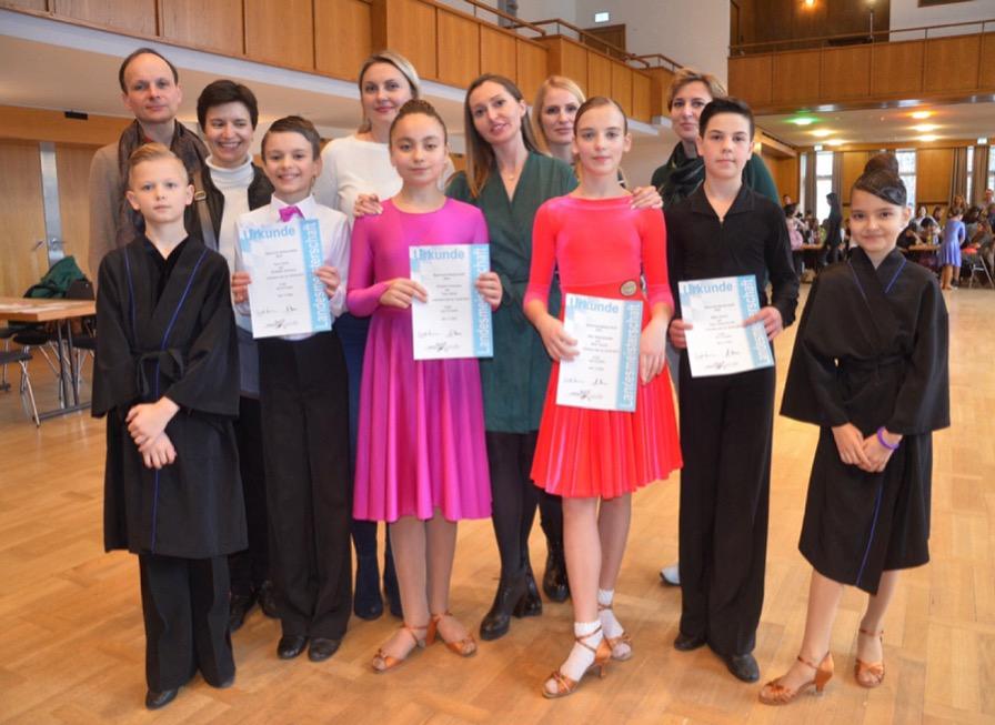 Tanzschule für Kinder in München Latein Standard Leistungssport