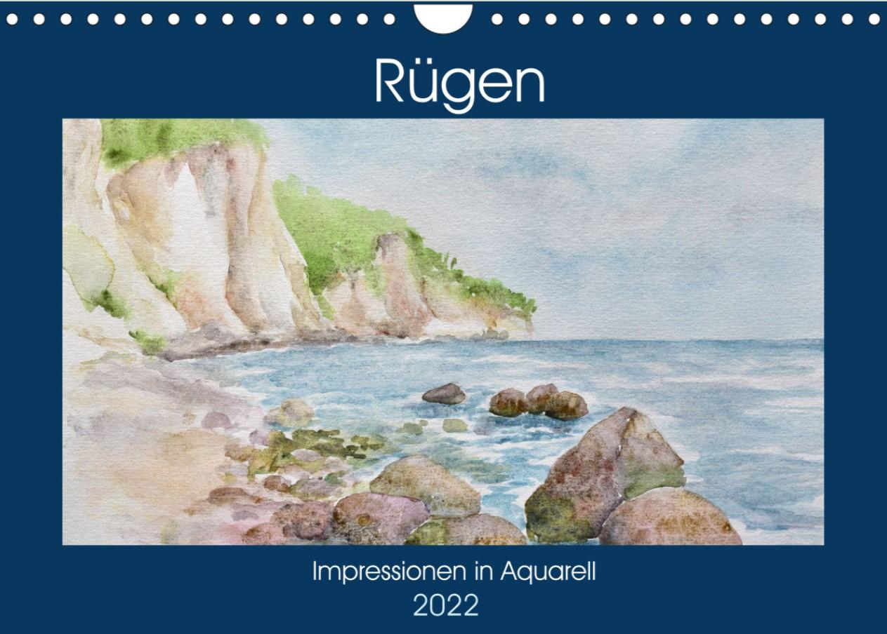 Aquarellkalender Rügen 2022
