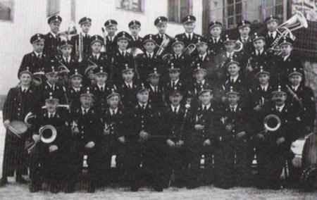 Musikkapelle Unterweißenbach 1955