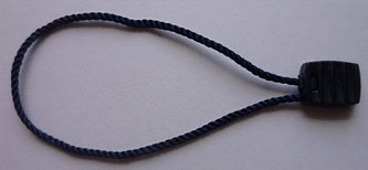 Marchamos Textiles Azul Oscuro 155mm  Ref. 007A10BLDK