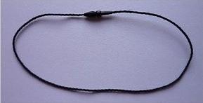 Marchamos Textiles circle Head 200mm Negro - Ref. 007A11BK
