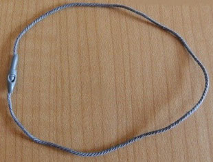 Marchamos Textiles Circle Head Ref. 007A11CTG-Polyester 200mm Grey-Gris