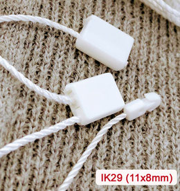 Marchamos Textiles 200mm Blanco IK29-200