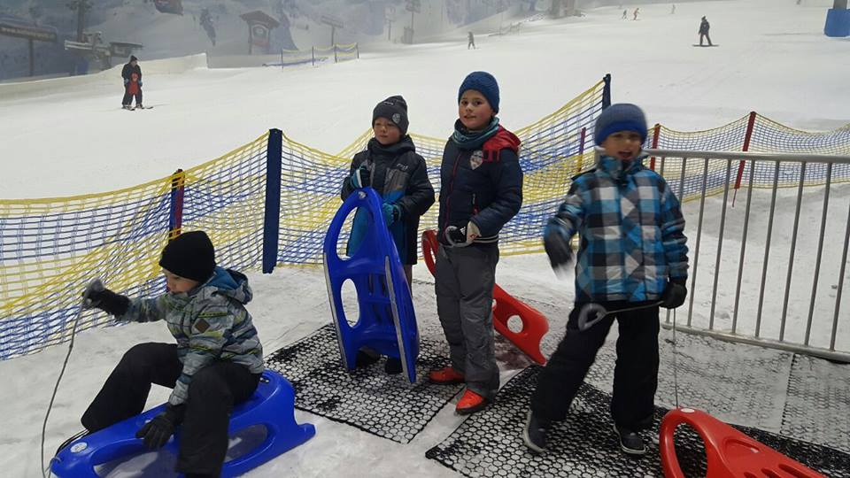 Weihnachtsfeier 2016 in der Skihalle 🌲⛄️