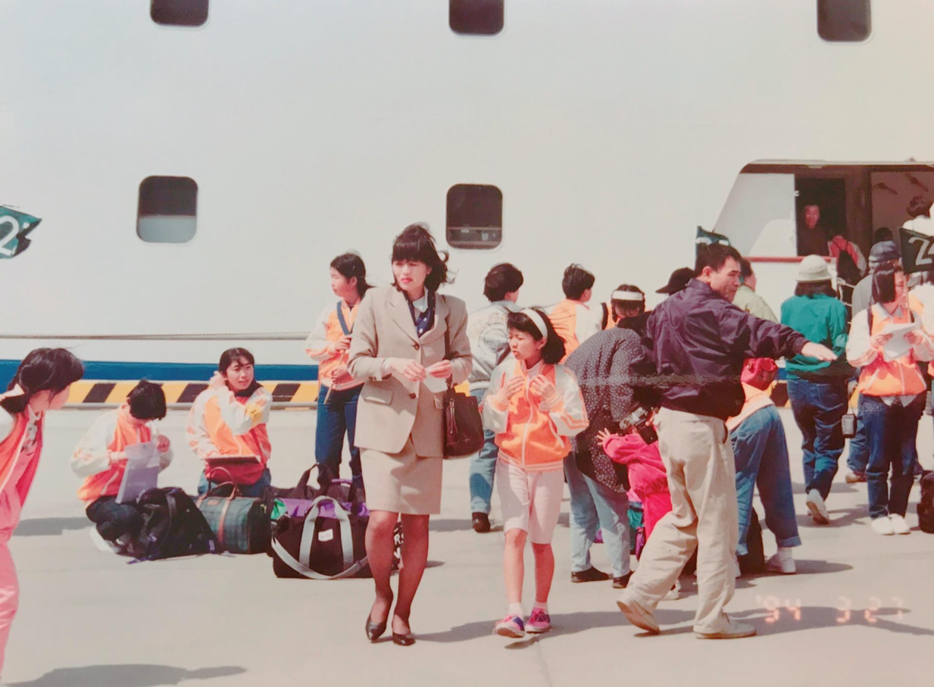 少年少女の船に参加し、日本一周しました。(小4)