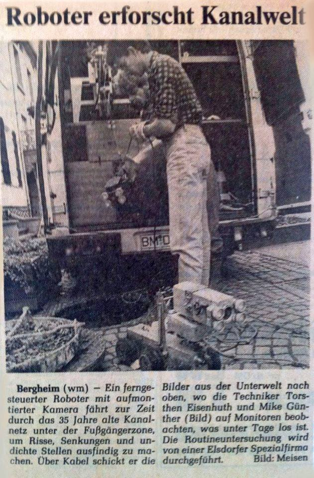 Eisenhuth Kanalinspektion 1989
