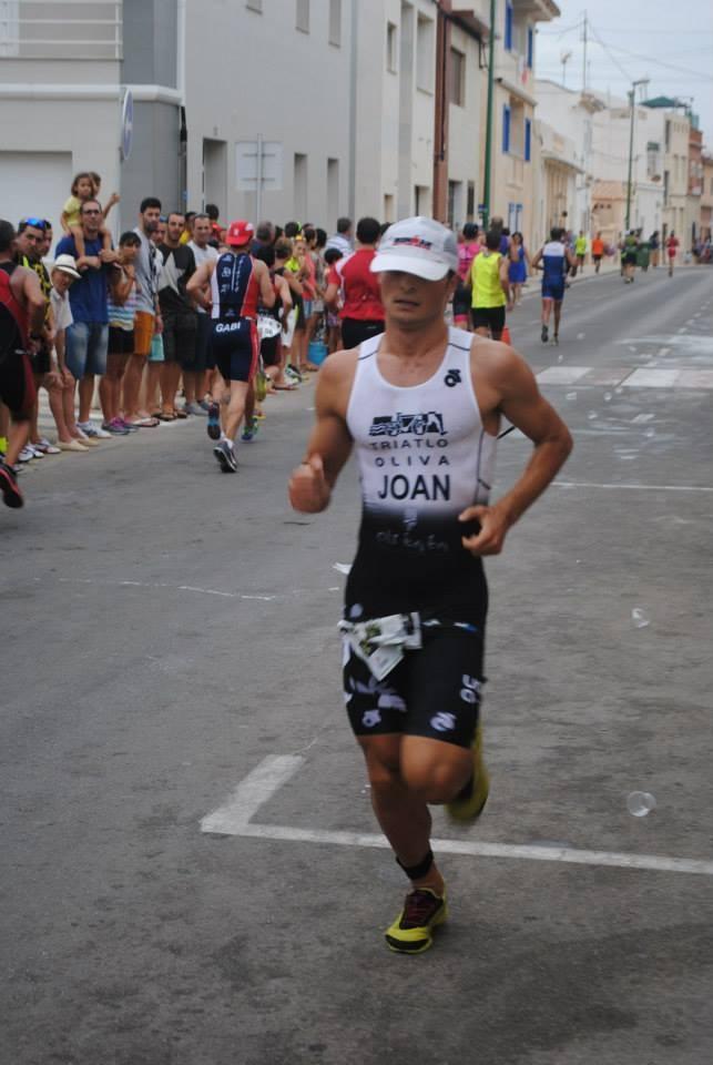 Joan Morant guanyador local de la XXVI Triatló Oliva