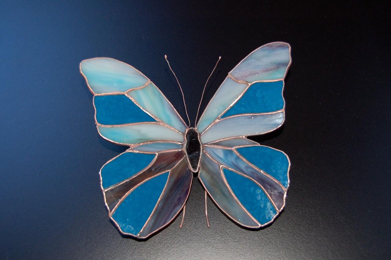 Papillon réalisé en Tiffany